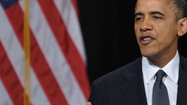 Le président Obama, le 16 décembre 2012 à Newtown, dans le Connecticut [Mandel Ngan / AFP/Archives]