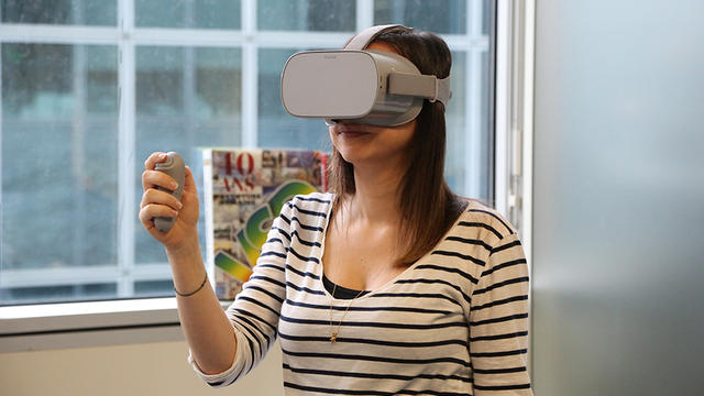 Le casque de réalité virtuelle abordable est disponible — Oculus Go