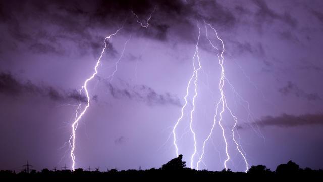 Un orage violent s'est abattu sur la petite commune de Plouray (Morbihan)