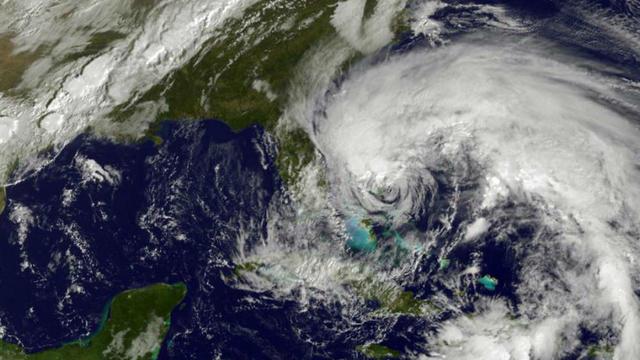 L'ouragan Sandy a violemment frappé la côte est américaine en octobre 2012