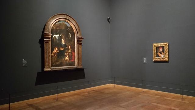«La Vierge aux rochers» et «Le Musicien» sont exposés presque côte à côte dans la magnifique exposition Leonard de Vinci