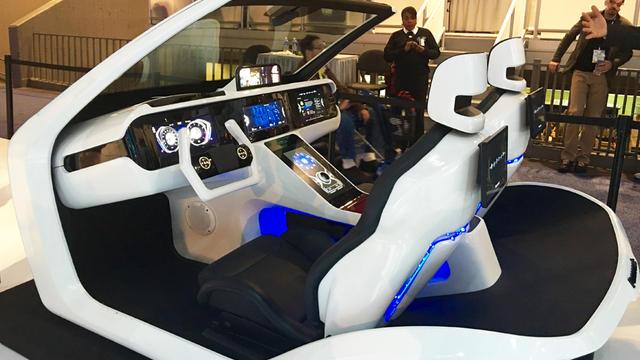 Panasonic présentait sa vision de l'automobile hyperconnectée au CES de Las Vegas.
