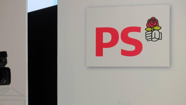 Au siège du Parti socialiste