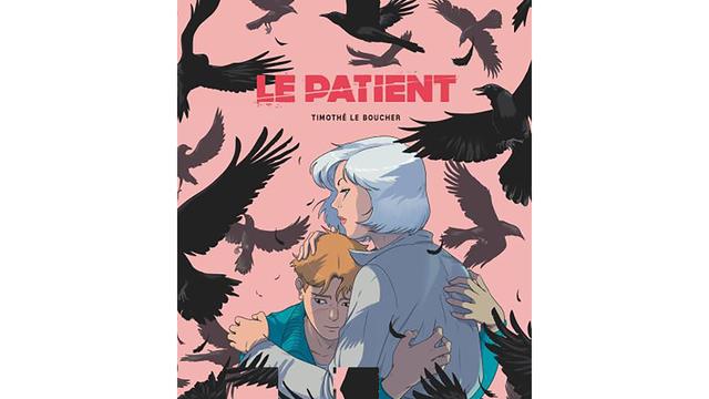 La couverture de la BD n'est pas sans rappeler le film d'Hitchcock, « Les oiseaux ».