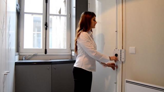 Vidéo : à Paris, un appart de 8m2, mais parfaitement pensé | www ...