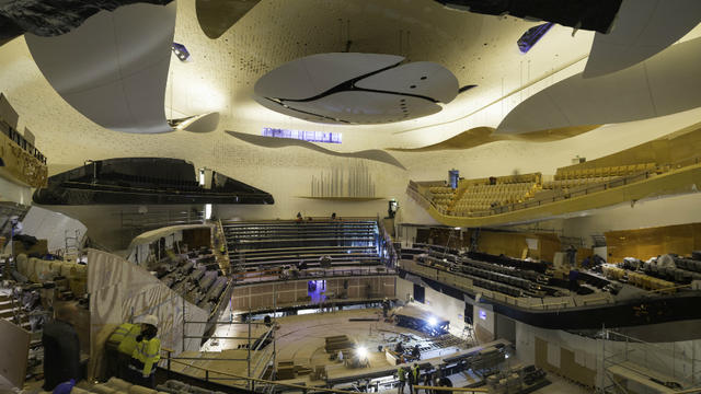 La Philharmonie de Paris doit ouvrir le mercredi 14 janvier.