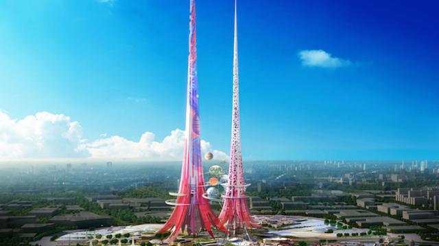 Le projet des tours Phoenix, dans le ciel de Wuhan.