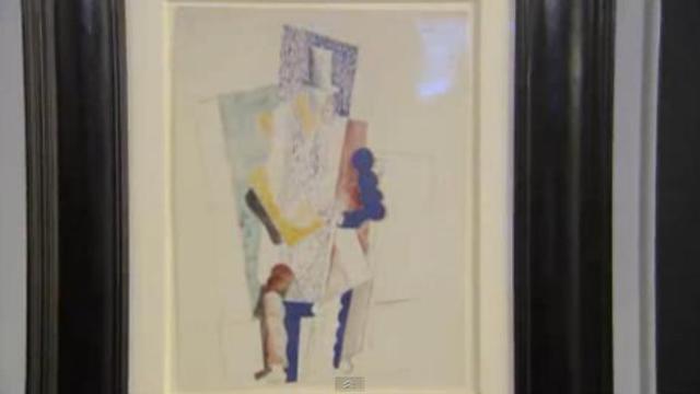 """""""L'homme au Gibus"""", de Pablo Picasso (1914)"""