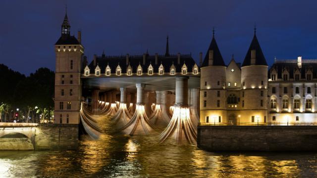 Un spectacle son et lumière sera projeté sur la façade de la Conciergerie.