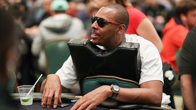 Paul Pierce a mis de l'ambiance aux tables de poker du PSPC.