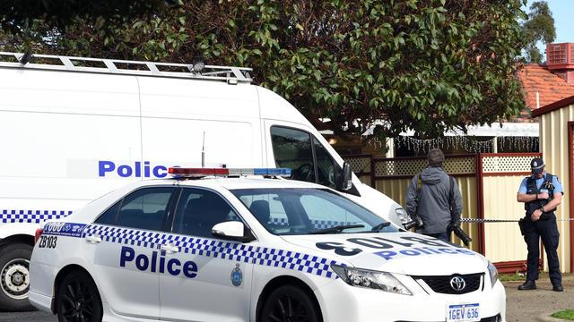 Des policiers australiens