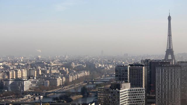 Des niveaux élevés de particules fines sont constatés jeudi et vendredi à Paris.