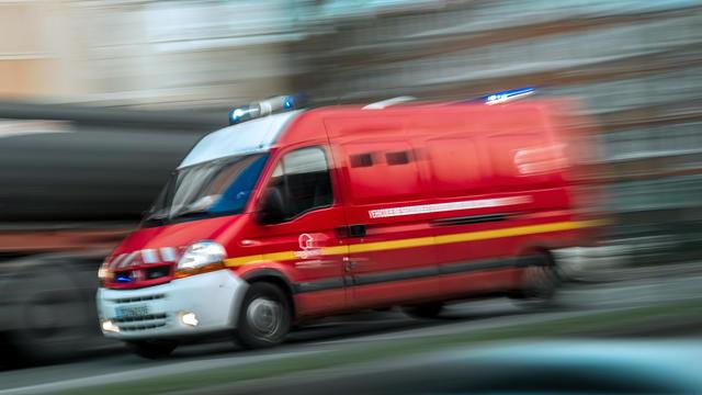 Camion pompiers à Roubaix