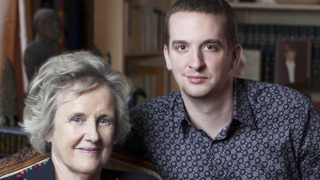 """Marie-France Castarède et Samuel Dock, auteurs de l'ouvrage """"Le nouveau choc des générations"""" édité chez Plon."""