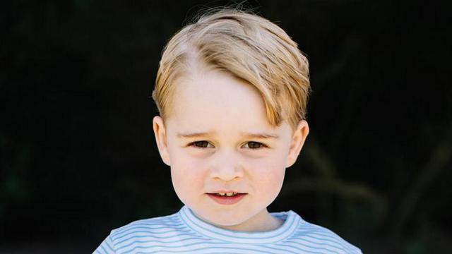 Le Prince George vient de fêter ses 3 ans