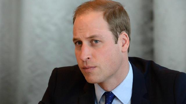Le Prince William s'approprie son futur rôle d'homme d'Etat.[John Fuller Rowell/AFP]