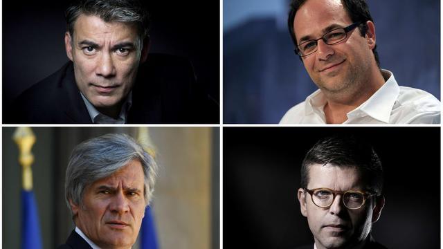 Olivier Faure, Emmanuel Maurel, Stéphane Le Foll et Luc Carvounas s'affronteront lors d'un débat télévisé ce mercredi.