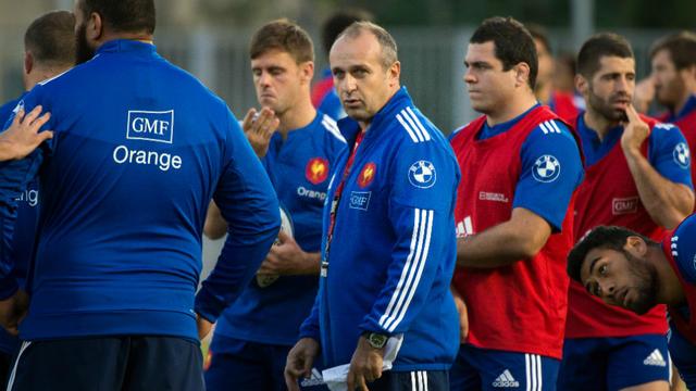 Philippe Saint-André a effectué quatre changements dans son XV de départ pour affronter samedi l'Argentine.