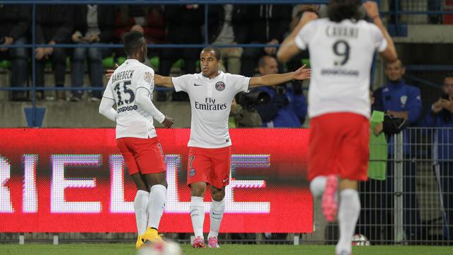 Les joueurs du PSG