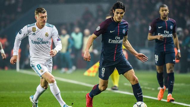 Edinson Cavani et les Parisiens ont été éliminés dès les huitièmes de finale pour la deuxième saison consécutive.