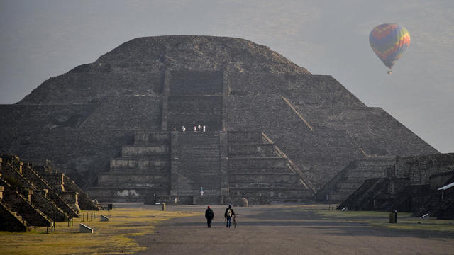 Le site antique de Teotihuacán, au Mexique, est l'un des plus grands sanctuaires d'Amérique du Sud.