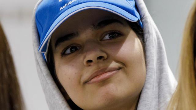 La jeune femme a fui l'Arabie saoudite et obtenu l'asile au Canada.