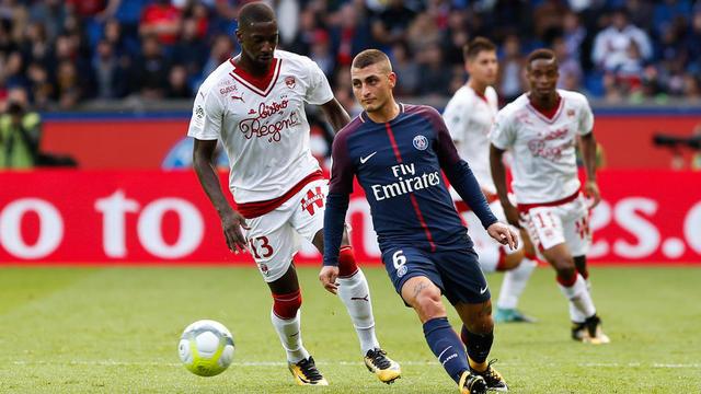 Raquel Garrido avait assisté au match entre le PSG et Bordeaux fin septembre.