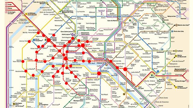 Le réseau RATP va être largement impacté par les manifestations samedi 15 décembre.