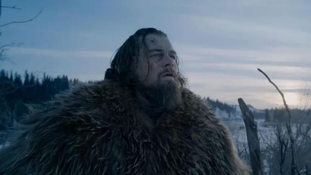 """""""Leo"""" prend les traits d'un trappeur laissé pour mort en plein Dakota du Sud."""