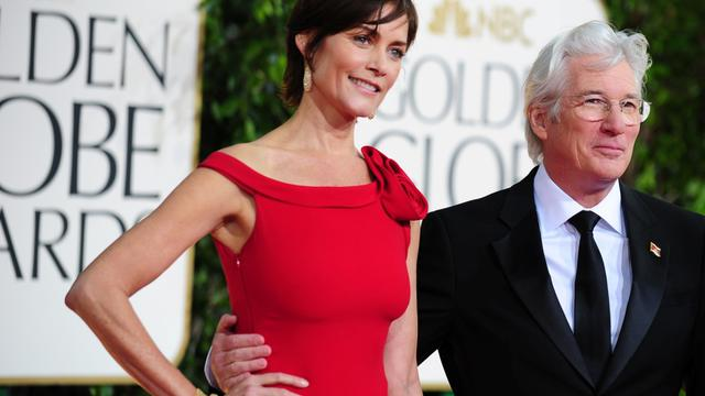 Richard Gere étaient apparus ensemble sur le tapis rouge des Golden Globes le 13 janvier dernier