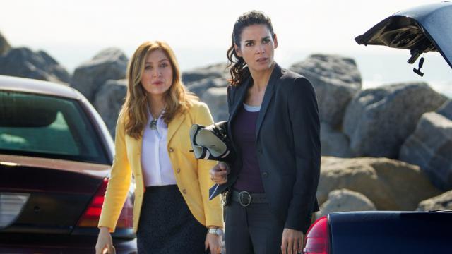 Maura Isles (Sasha Alexander)  et Jane Rizzoli (Angie Harmon)