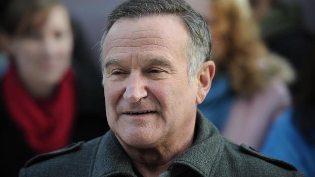 L'acteur Robin Williams.