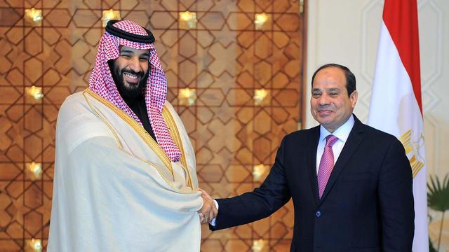 L Arabie Saoudite Et L Egypte Ont Signe Un Accord Pour Construire Une Ville A  Milliards De Dollarsho Egyptian Presidency Afp