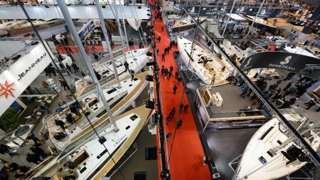 Chaque année, le salon nautique de Paris attire plus de 200.000 visiteurs.