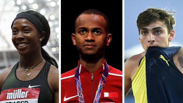 La Jamaïcaine Shelly-Ann Fraser-Pryce (100 m et 200 m), le Qatarien Mutaz Barshim (saut en hauteur) et le Suédois Armand Duplantis (saut à la perche) feront partie des athlètes à suivre avec un œil particulier.