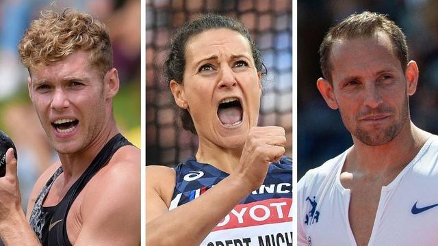 Kevin Mayer, Mélina Robert-Michon et Renaud Lavillenie font partie des Français qui peuvent prétendre à une médaille lors des Mondiaux d'athlétisme de Doha (27 septembre-6 octobre).