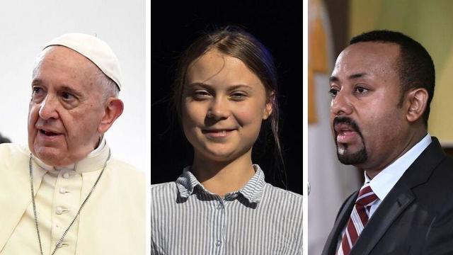 Le pape François, la militante écologiste Greta Thunberg et le Premier ministre éthiopien Abiy Ahmed font partie des favoris pour le prix Nobel de la paix 2019.