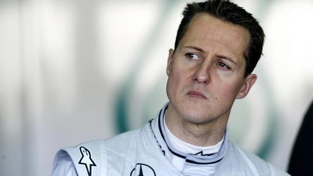 L'ex-pilote de F1 Michael Schumacher.