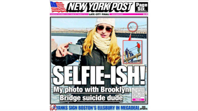 La Une du New York Post.
