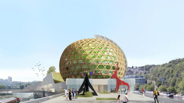 La Cité musicale de l'Ile Seguin ouvrira au public au second semestre 2016.