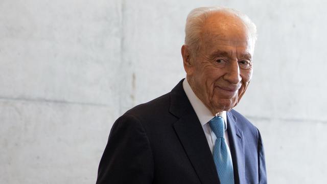 L'ancien dirigeant israélien Shimon Peres, ici en mai 2016, s'est éteint le 28 septembre.