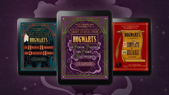 J.K.Rowling propose trois nouvelles numériques dans l'univers d'Harry Potter.