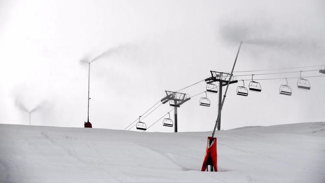 Les canons à neige fonctionneront à plein régime cette saison.