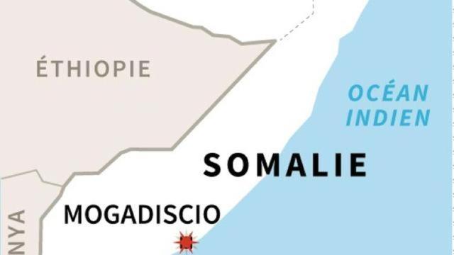 Le marché visé, Hamarweyne, est situé à proximité des bâtiments de la municipalité de Mogadiscio.
