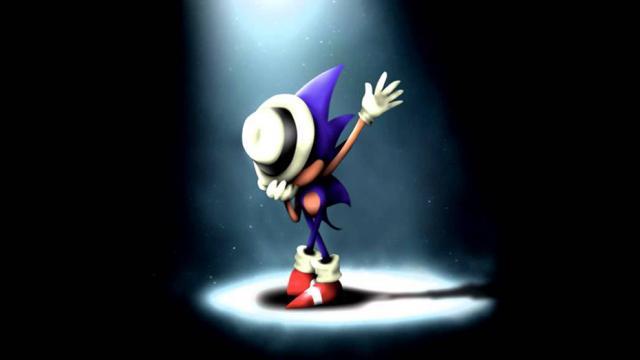 Un hommage de Sonic à Michael Jackson réalisé par des fans.
