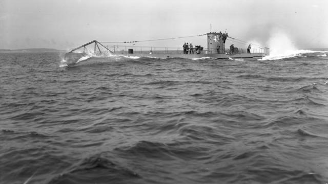 Un sous-marin allemand en 1938