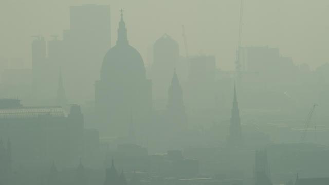 Pollution à Londres