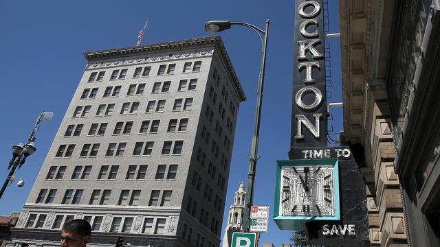 La ville californienne de Stockton a été déclarée en faillite en 2012.