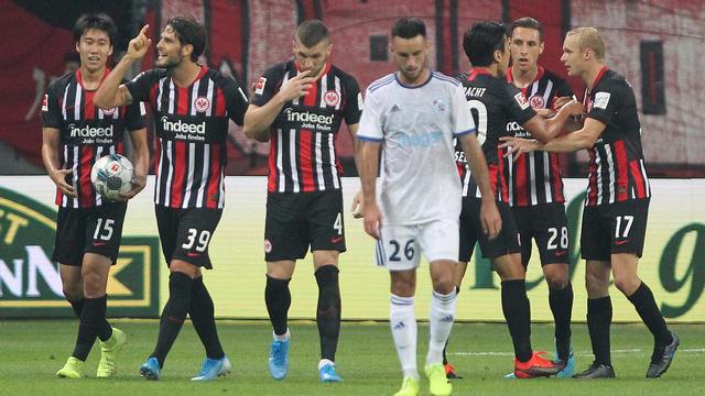 Balayé à Francfort (3-0), Strasbourg ne disputera pas la Ligue Europa.