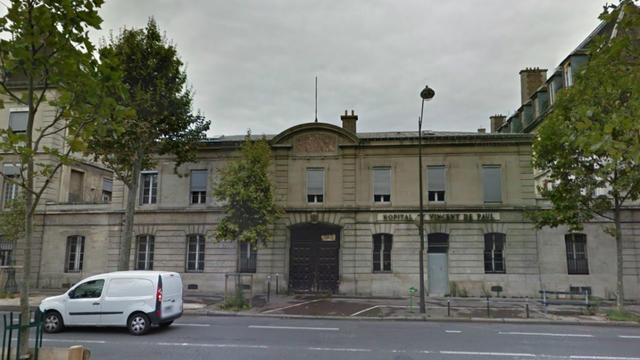 L'ancien hôpital Saint-Vincent-de-Paul, à Paris, est totalement désaffecté depuis 2012.